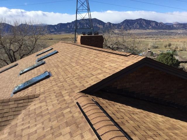 Impact Resistant roof in Boulder, Colorado
