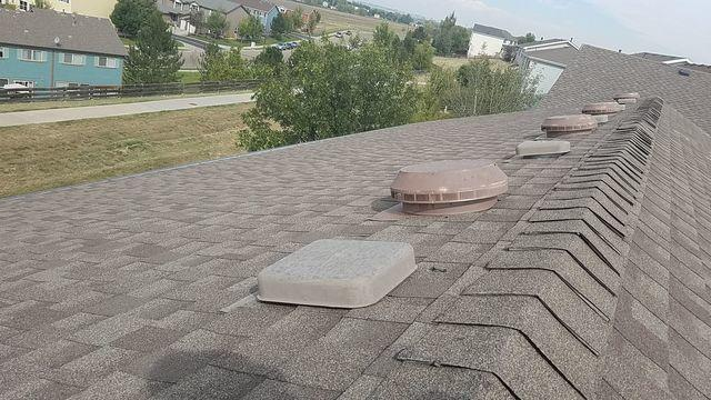 New roof in Erie, Colorado