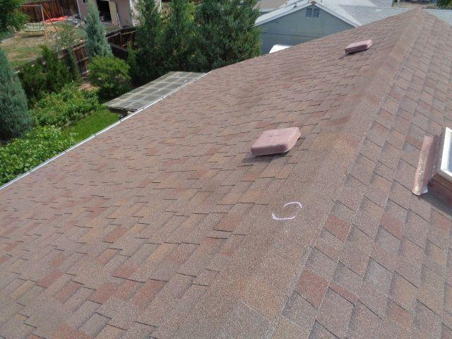 Updated roof in Westminster, CO
