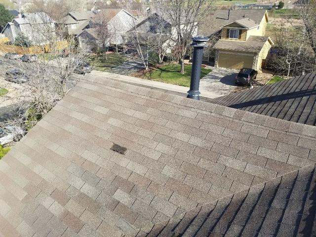 Hail damage repair in Thornton, Colorado