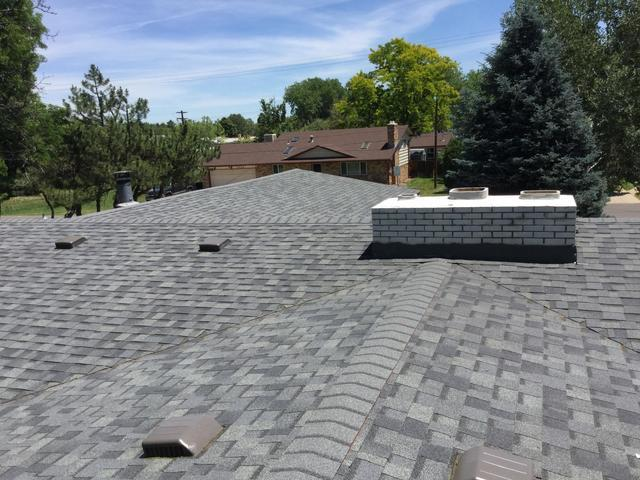 Hail Damage Re-Roof in Wheatridge