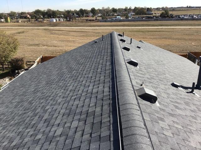 New roof in Dacono, CO