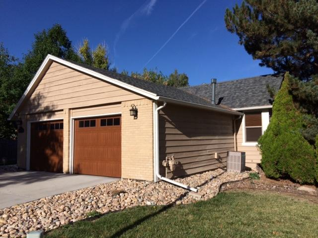 New Roof Installation with Hail Resistant Shingles in Centennial, CO