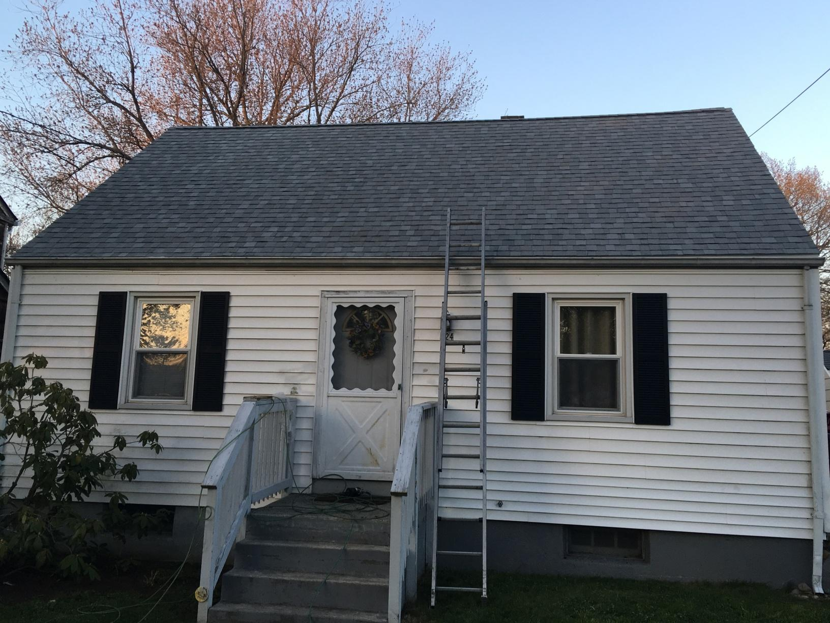 Milford CT - Wind Damaged Roof (Rivercliff Dr) - After Photo