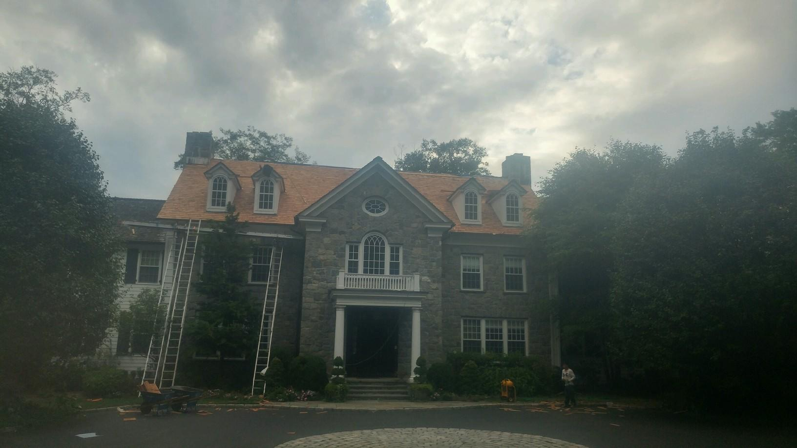 Greenwich CT - Wind Damaged Roof (Porchuck Rd) - After Photo
