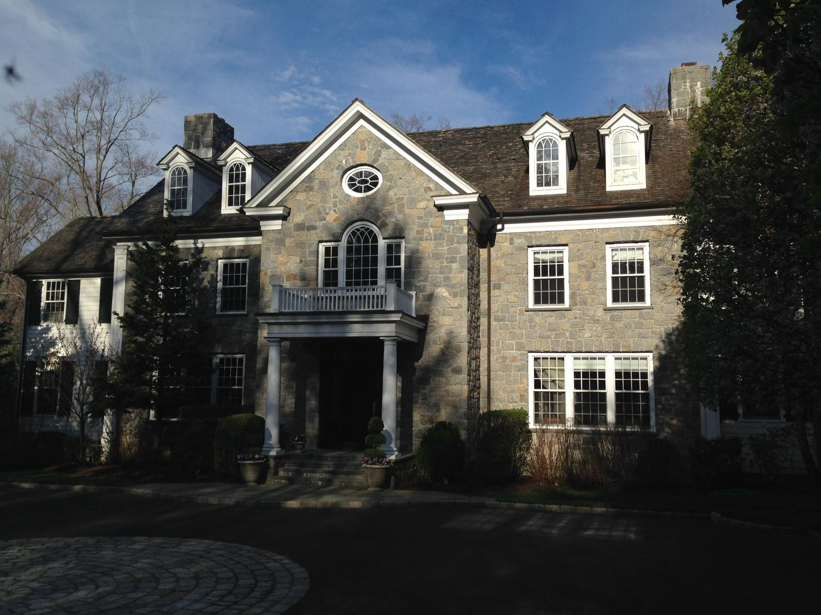 Greenwich CT - Wind Damaged Roof (Porchuck Rd) - Before Photo