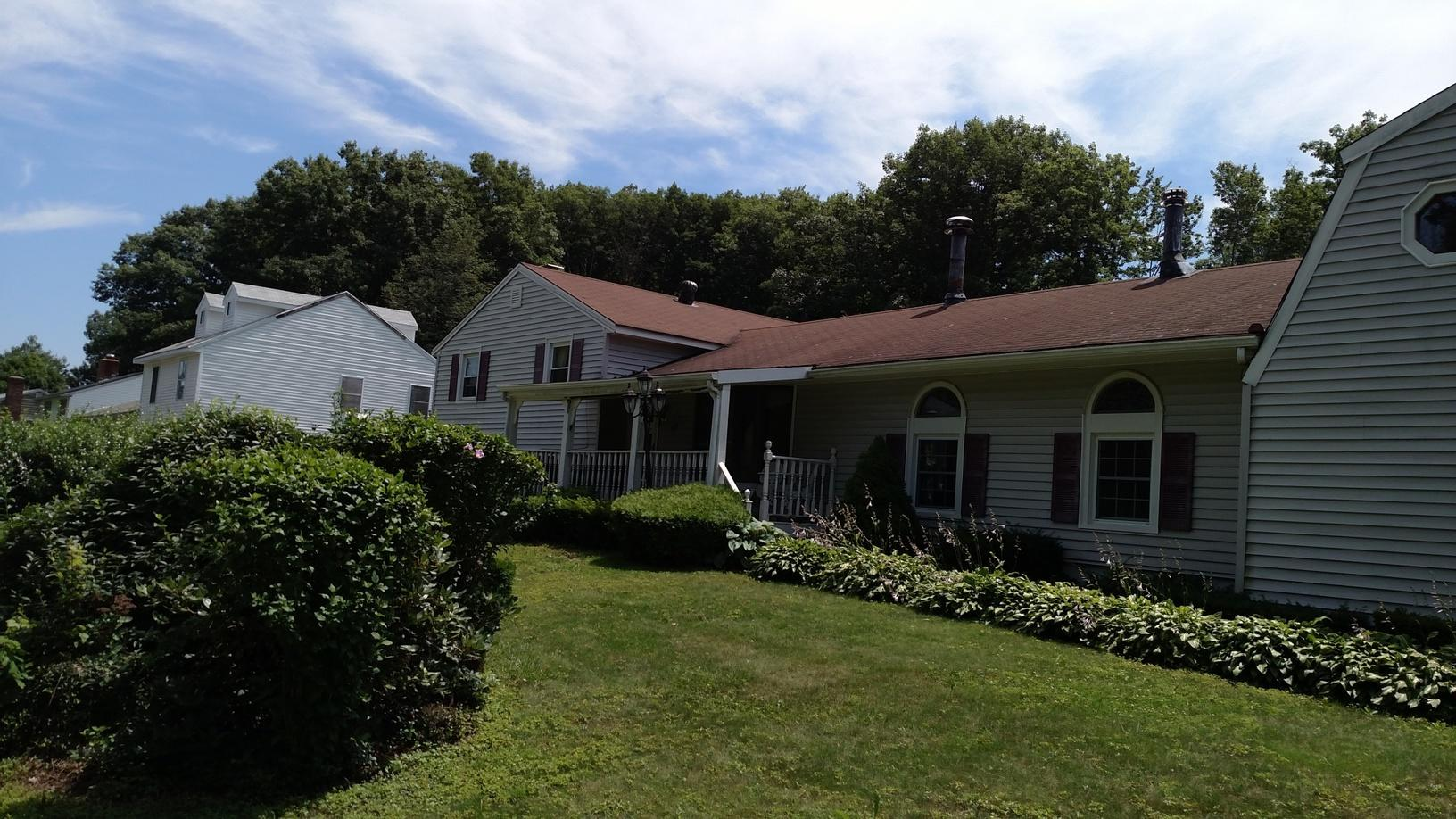 Wolcott CT - Roof Replacement (Deepwood Dr) - Before Photo