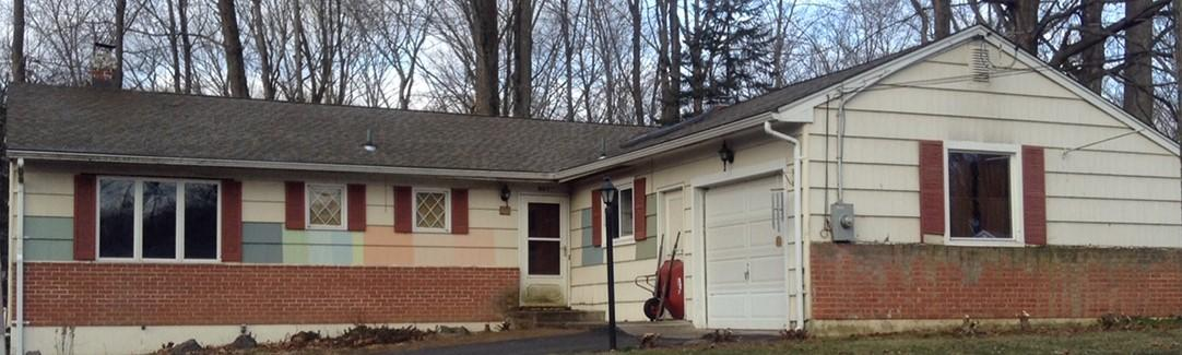 Cheshire, CT - Siding Replacement - Before Photo