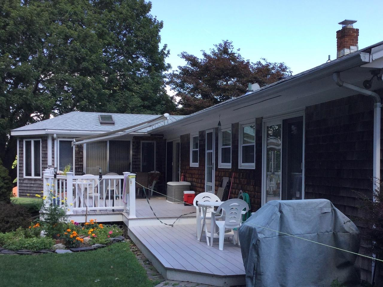 Portsmith, RI - Siding Replacement - Before Photo
