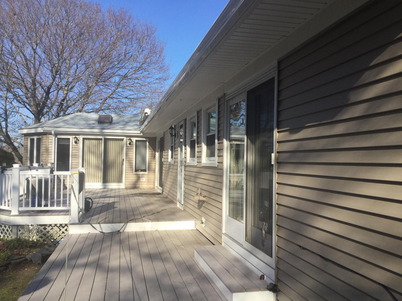 Portsmith, RI - Siding Replacement - After Photo