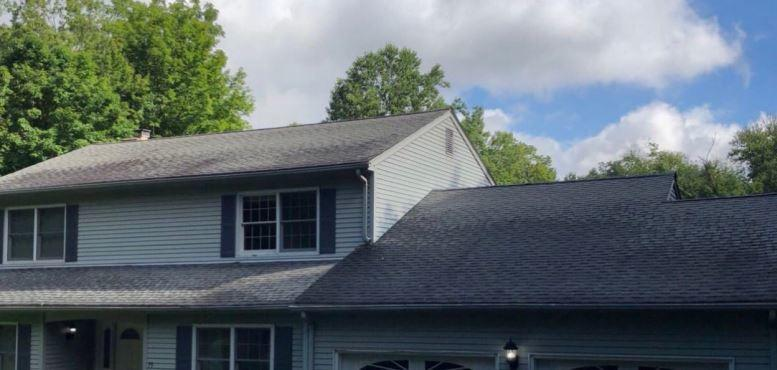 Southbury, CT - Roof Replacement (Carriage Dr) - Before Photo