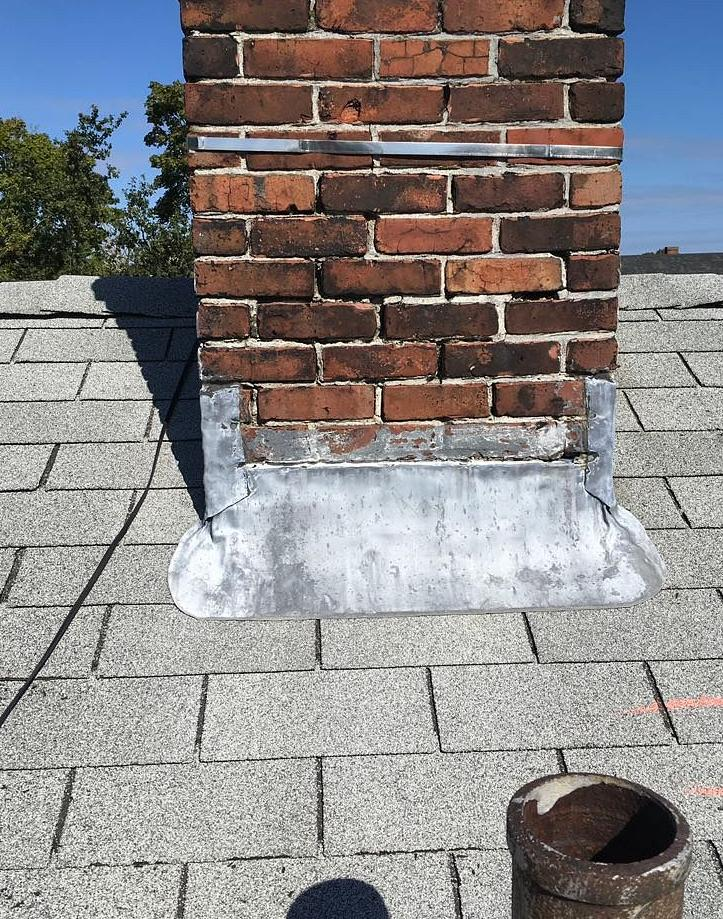 Middletown, RI - Wind & Hail Damaged Roof Repair (Vernon Ave) - Before Photo