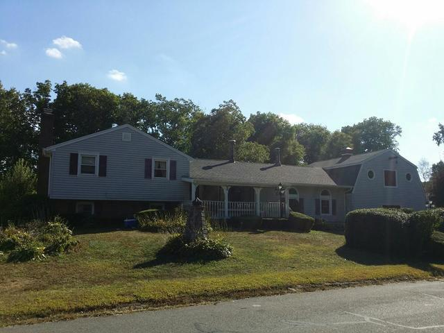 Roof with Wind Damage Restored and Replaced in Wolcott CT - After Photo