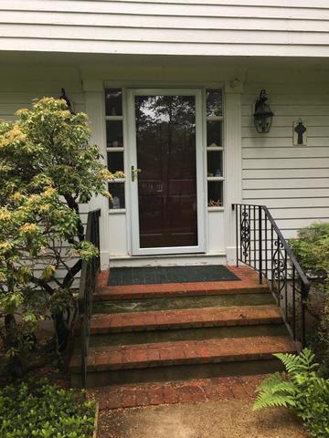 Front door replacement in Norton, MA