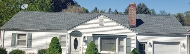Wind Damaged Roof Replacement in Agawam, MA