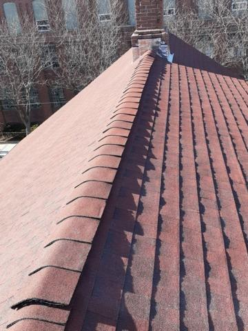 Pawtucket, RI - Hail Damaged Roof Repairs (Clay St)