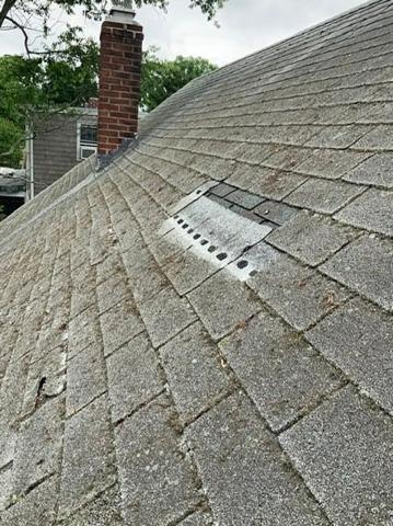 Warwick, RI - Wind Damaged Roof (Congress St)