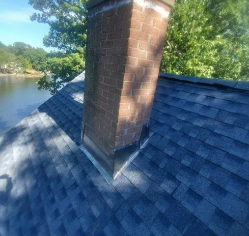 Smithfield, RI - Wind Damaged Roof Repairs