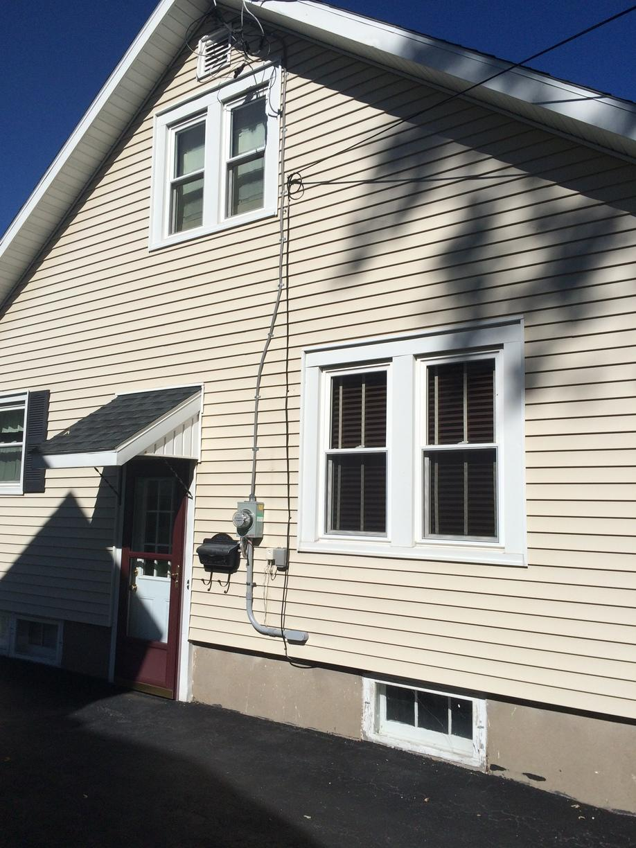 New service cable for Newark, NY homeowner - After Photo