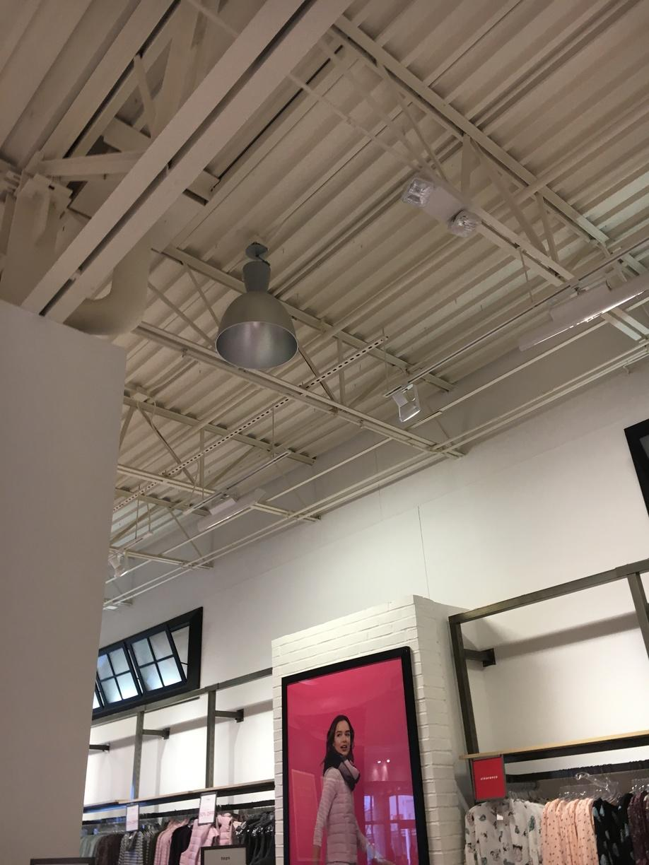 Commercial lighting in Waterloo, NY - Before Photo