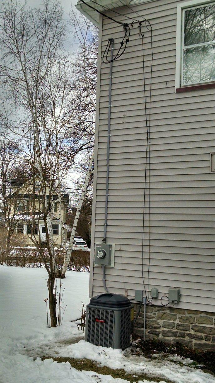 Upgrade service for Rochester, NY homeowner - After Photo