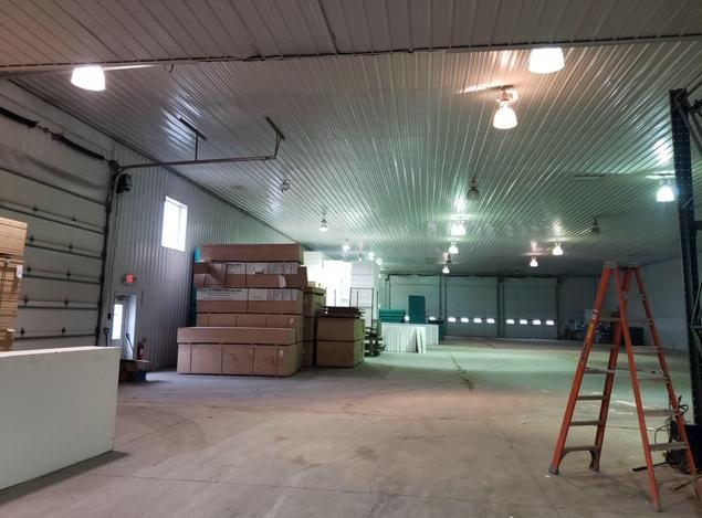 Warehouse Lighting Upgrade - Before Photo