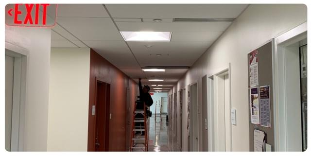 Darkened Hallways Get a Face Lift in Geneva, NY - After Photo