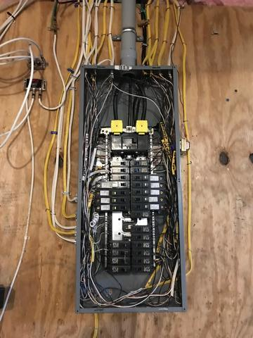 Panel Clean-Up to Allow for Transfer Switch Install, Irondequoit