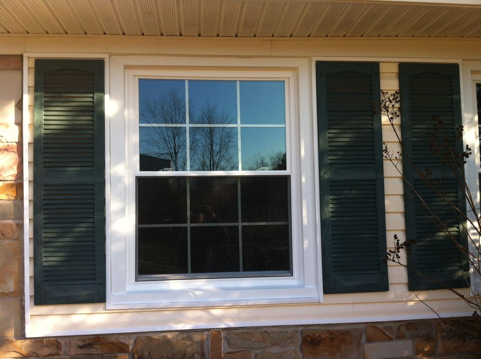 Hatboro Double Hung Window Replacement - After Photo