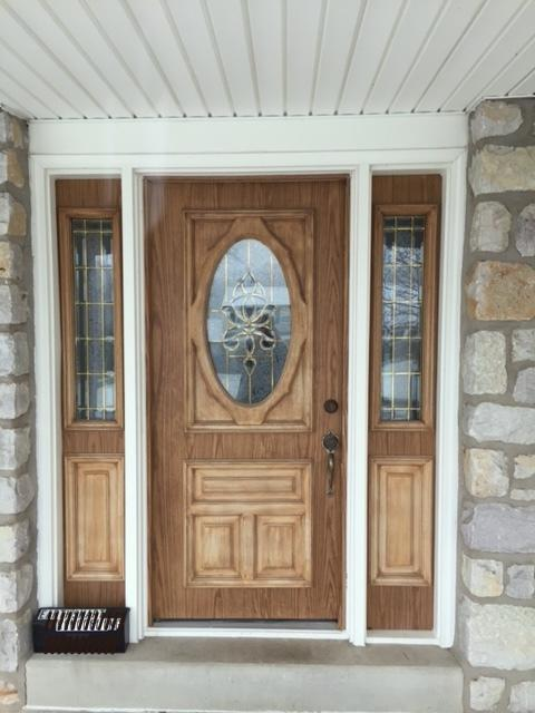Lansdale Entry Door Exterior - Before Photo