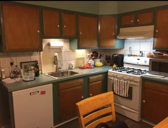Kitchen Reface in Chester County - Before Photo