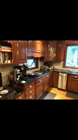 Kitchen Refacing in Dresher, PA - Before Photo