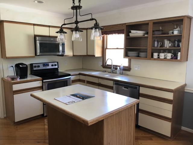 Kitchen Refacing White Doors - Royersford, PA