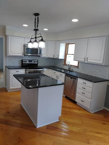 Kitchen Refacing White Doors - Royersford, PA - After Photo