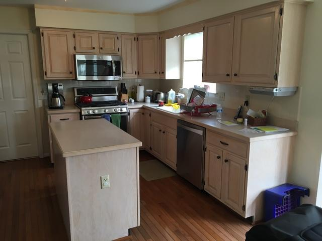Harleysville Kitchen Refacing - Before Photo