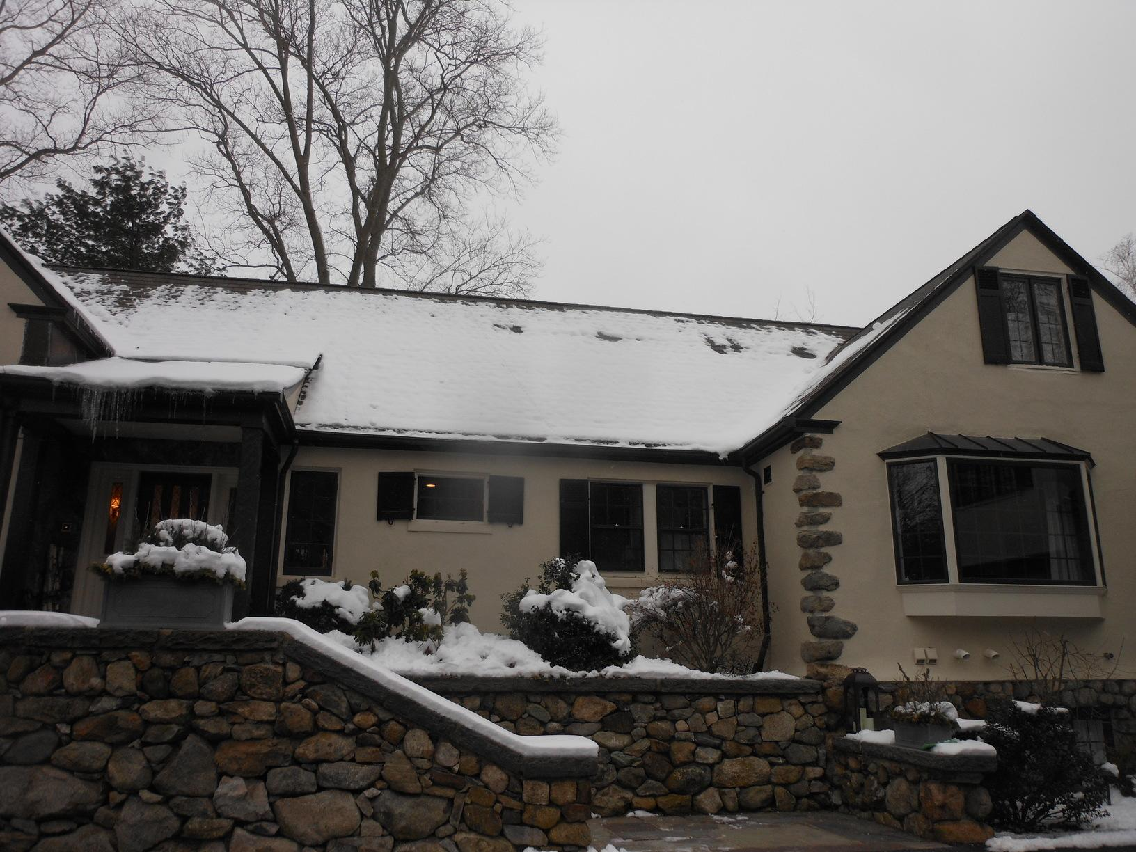 Wood Shingle Roof Installation in Winchester, MA - Before Photo