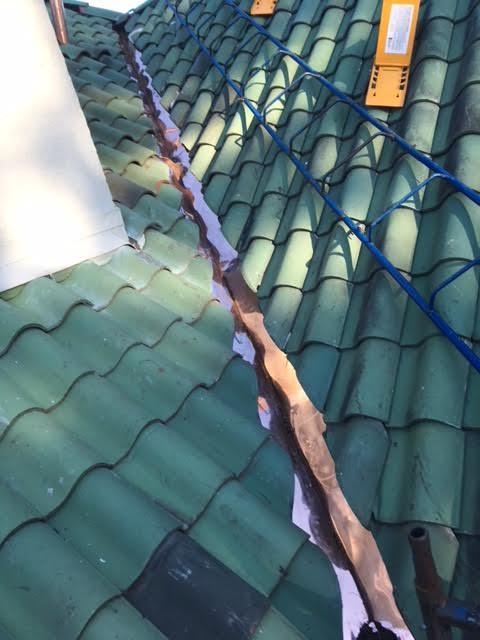 Tile Roof Valley Repair in Newton Center, MA - After Photo