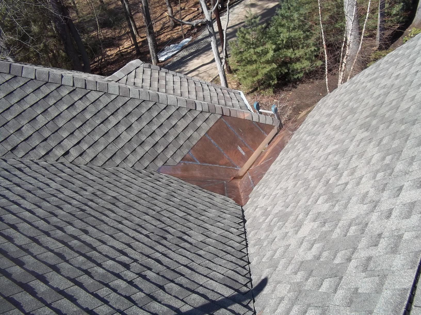 Copper Valley Installation on Shingle Roof in Watertown, MA - After Photo