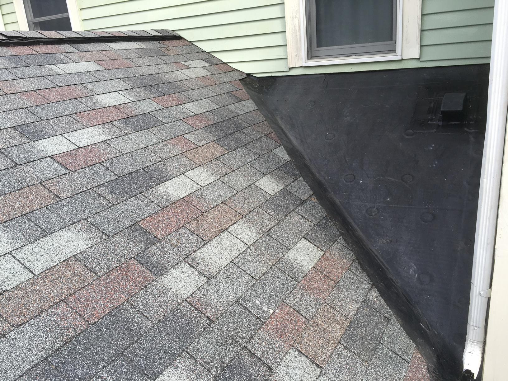 Rubber Roof Installation in Concord, MA - After Photo