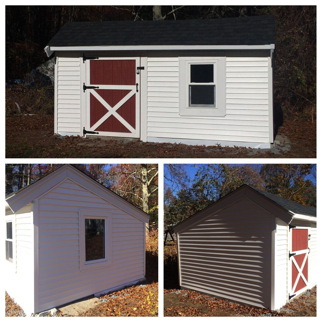 Shed Renovation: Roof, Window, Siding and Door Replacement- Needham, MA - After Photo