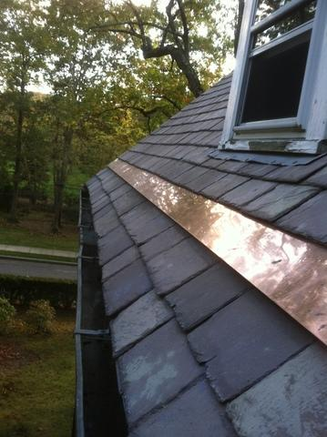 Slate & Copper Roofing in Arlington, MA