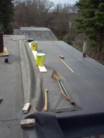 Flat Roof Replacement in Lexington, MA