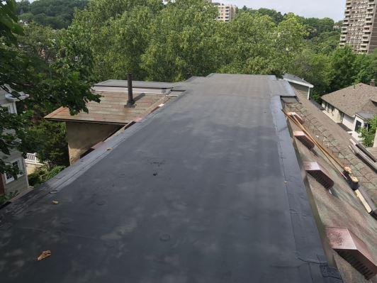 Rubber Roof Replacement in Marblehead, MA - After Photo
