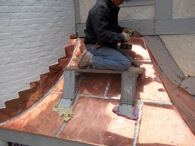 Custom Copper Craftsmanship in Wellesley, MA - After Photo