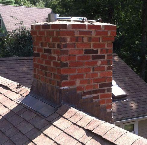 Rebuilt Chimney in Roslindale, MA