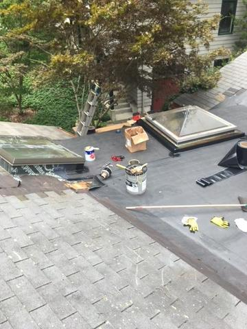 Rubber Roof Repair in Waban MA