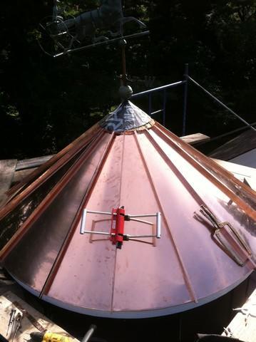 Copper Turret Replacement in Boston, MA