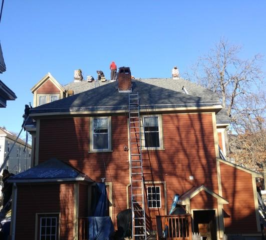 Complete Shingle Roof Replacement in Beverly, MA