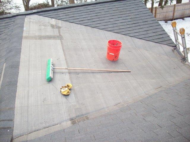Rubber Roof Installation, Lexington, MA