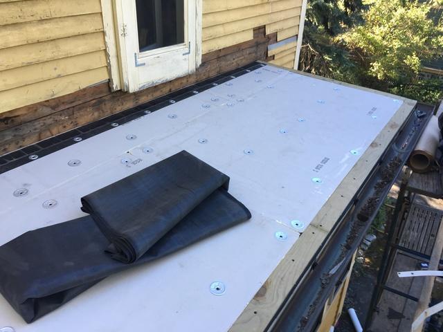 Flat Roof Installation in Jamaica Plain, MA